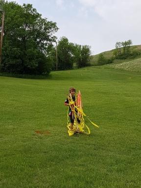 hardworking clean-up crew!